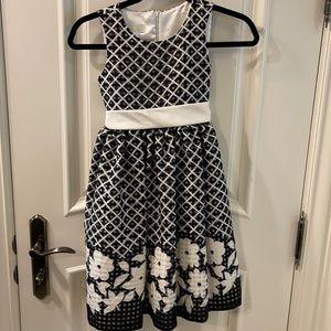 Girls party dress size 8